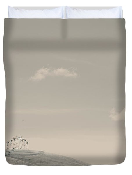 The Hills Duvet Cover by Laurie Search