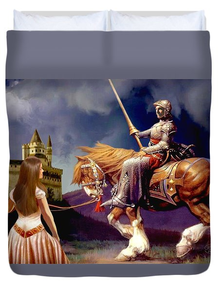 The Homecoming Duvet Cover by Ronald Chambers