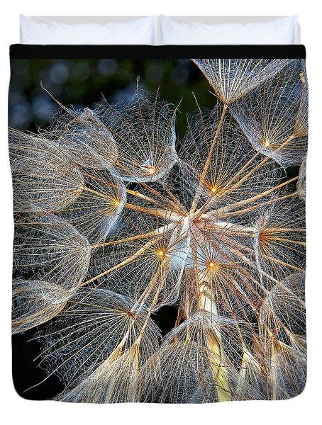 The Inner Weed Duvet Cover by Steve Harrington
