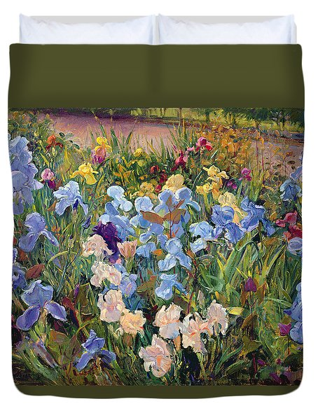 The Iris Bed Duvet Cover by Timothy Easton