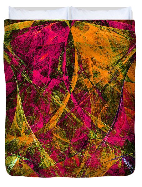 The Jester 20130510 square Duvet Cover by Wingsdomain Art and Photography