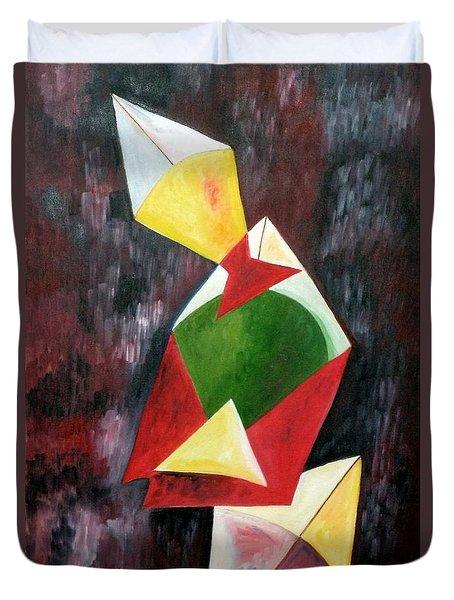 The Kites Duvet Cover by Dipali Deshpande