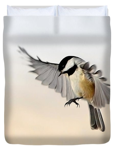 The Landing Duvet Cover by Bill Wakeley