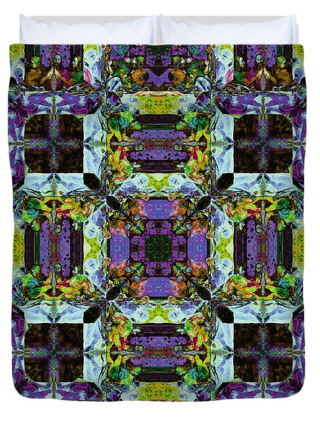The Last Supper Abstract 20130130p40 Duvet Cover by Wingsdomain Art and Photography