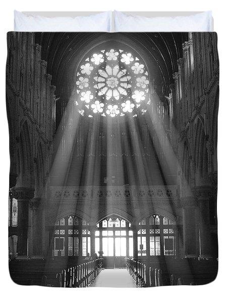 The Light - Ireland Duvet Cover by Mike McGlothlen