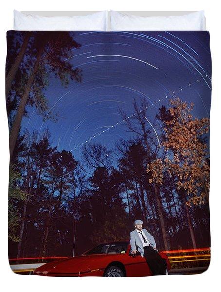 The Long Wait Duvet Cover by Mike McGlothlen