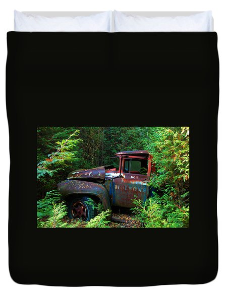 The Lost Delivery Duvet Cover by Ron Haist