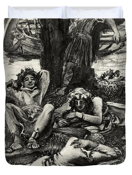 ulysses and the lotos eaters and He adventure of odysseus and his men in the land of the lotos-eaters forms the basis for alfred lord tennyson's 1833 poem homer's version is notoriously sparse in comparison to tennyson's.