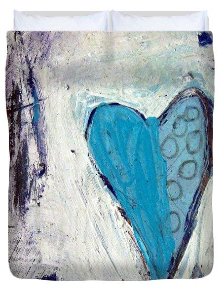 The Love Inside Duvet Cover by Venus