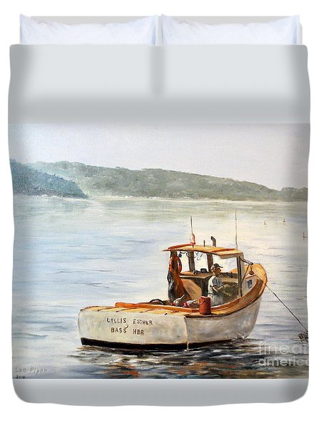 The Lyllis Esther Duvet Cover by Lee Piper