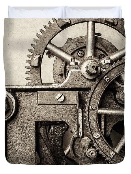 The Machine Duvet Cover by Martin Bergsma