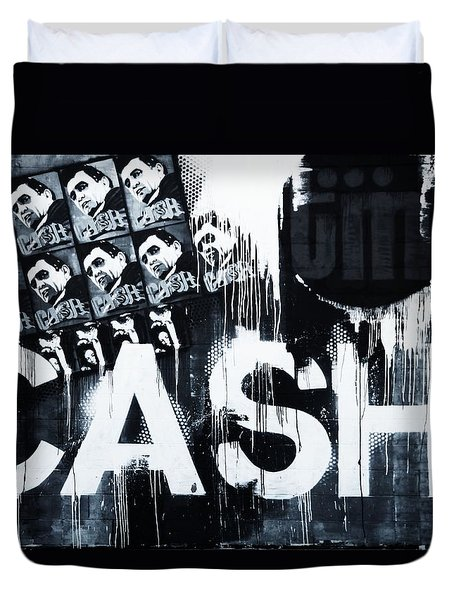 The Man In Black Duvet Cover by Dan Sproul