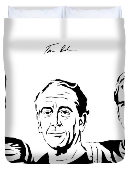 the Mannings Duvet Cover by Tamir Barkan