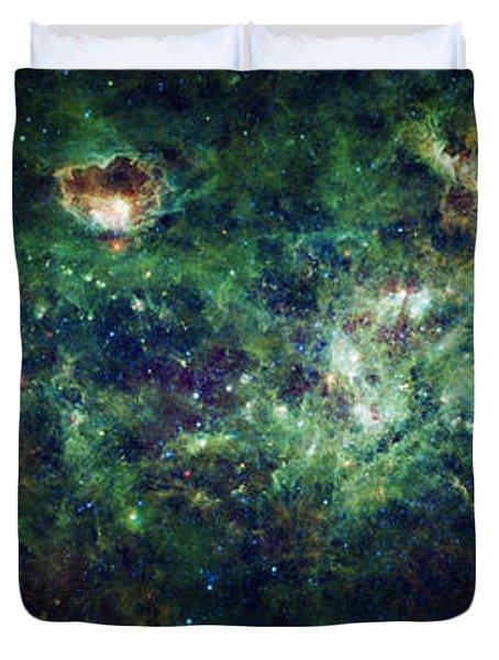 The Milky Way Duvet Cover by Adam Romanowicz