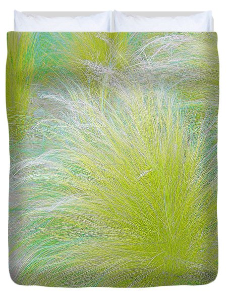 The Nature Of Grass   Duvet Cover by Ben and Raisa Gertsberg