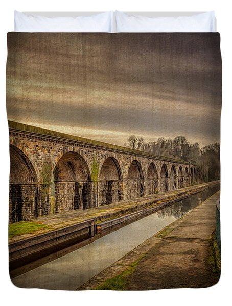 The Old Aqueduct Duvet Cover by Adrian Evans