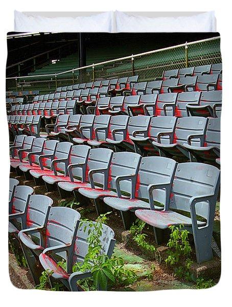 The Old Ballpark Duvet Cover by Frank Romeo