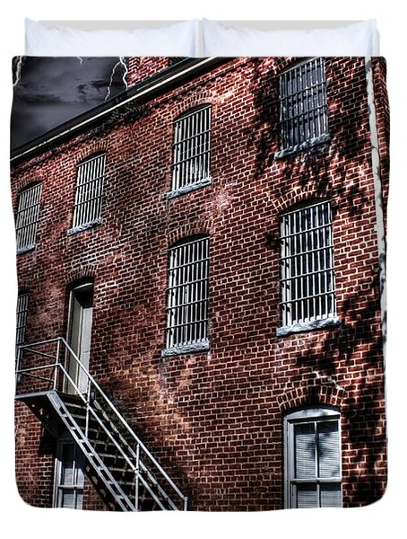 The Old Jail Duvet Cover by Dan Stone