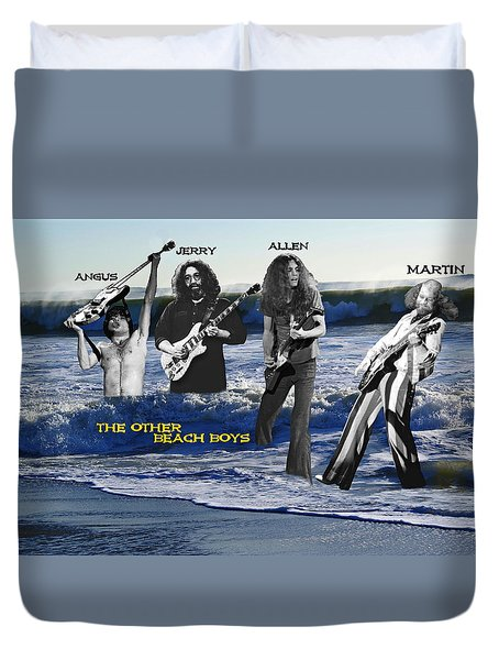 The Other Beach Boys Duvet Cover by Ben Upham