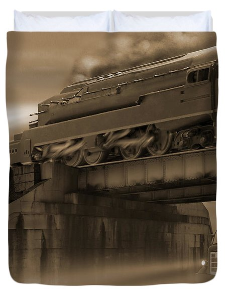 The Overpass 2 Duvet Cover by Mike McGlothlen