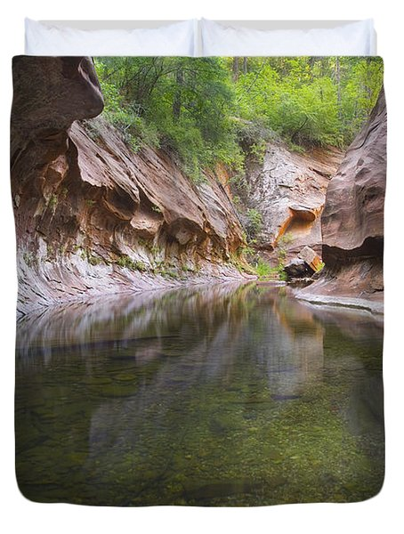 The Passage Duvet Cover by Peter Coskun