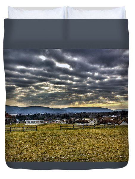 The Perfect View Duvet Cover by Tim Buisman