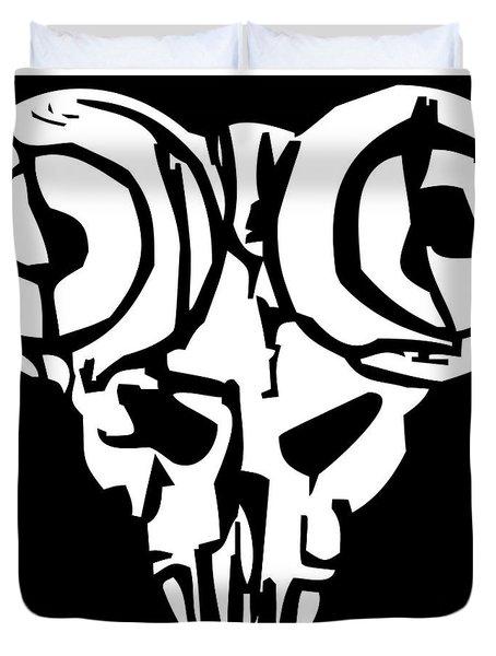The Pick Of Destiny-01 Duvet Cover by Caio Caldas