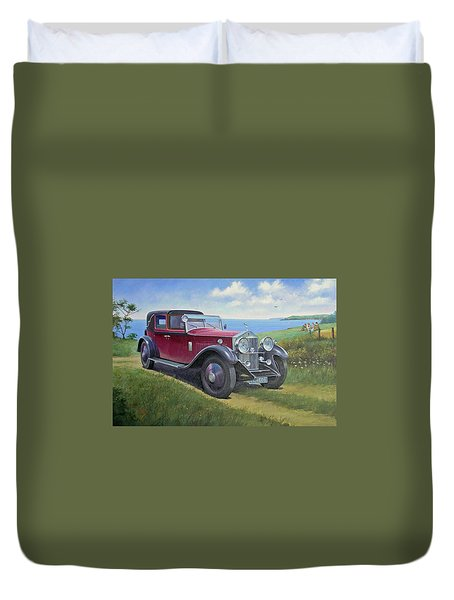 The Picnic Duvet Cover by Mike  Jeffries