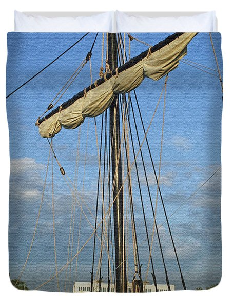 The Pinta Duvet Cover by Kay Novy