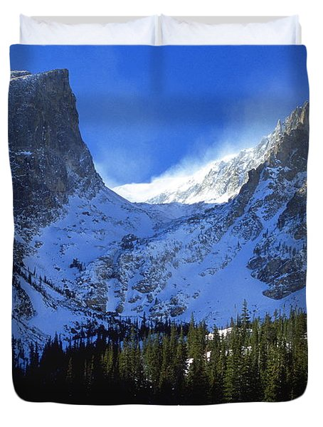 The Power and the Glory Duvet Cover by Eric Glaser