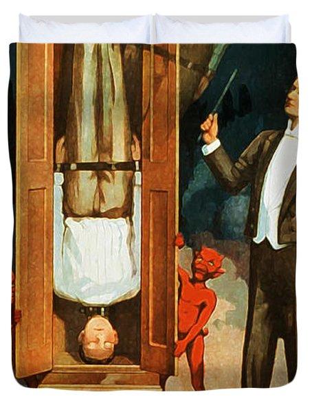 The Prisoner Of Canton Duvet Cover by The  Vault - Jennifer Rondinelli Reilly