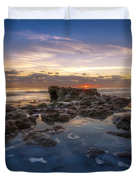 The Promise Duvet Cover by Debra and Dave Vanderlaan