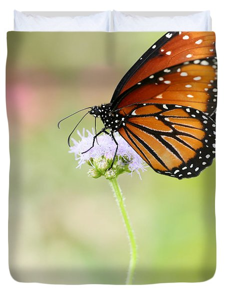 The Queen In Spring Duvet Cover by Sabrina L Ryan