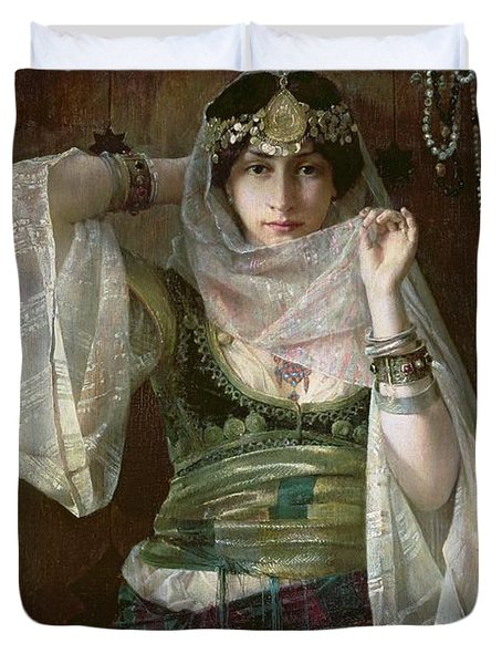 The Queen Of The Harem Duvet Cover by Max Ferdinand Bredt