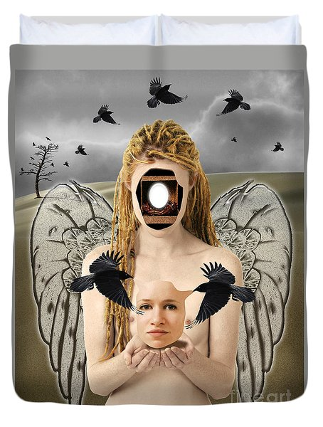 The Rebirth Duvet Cover by Keith Dillon
