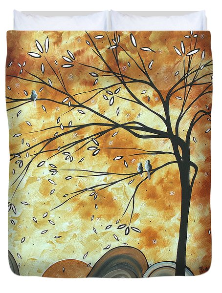 The Resting Place By Madart Duvet Cover by Megan Duncanson