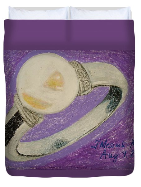 The Ring Duvet Cover by Fladelita Messerli-