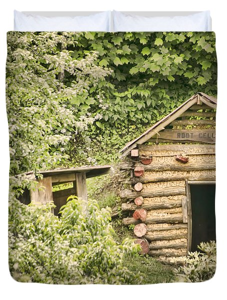 The Root Cellar Duvet Cover by Heather Applegate