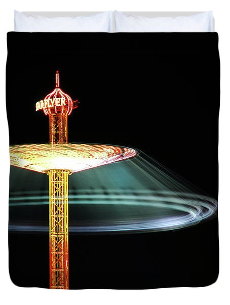 The Rotating Skirt Duvet Cover by Hannes Cmarits