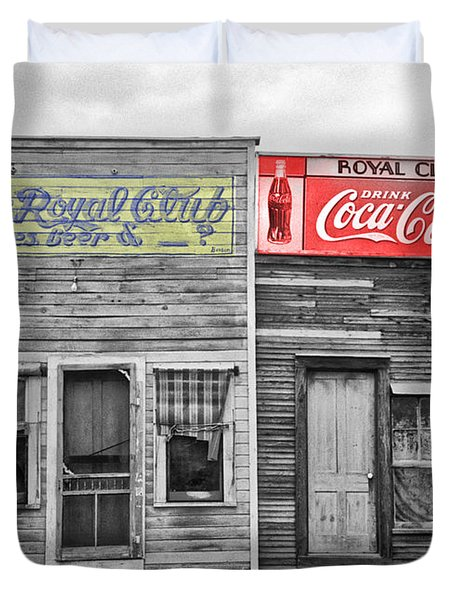 The Royal Club Duvet Cover by Russell Lee