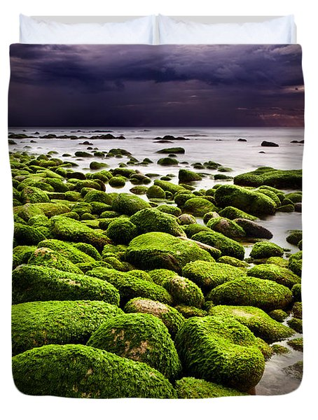 The silence after the storm Duvet Cover by Jorge Maia