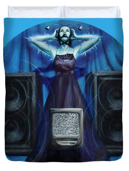 The Silenced Duvet Cover by Shelley  Irish