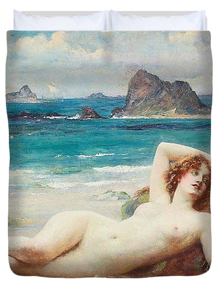 The Sirens Duvet Cover by Henrietta Rae