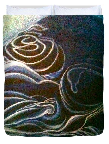The Slumber-detailed Duvet Cover by Juliann Sweet