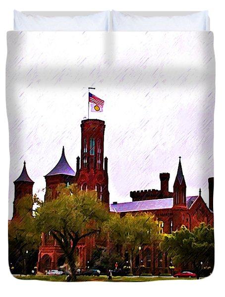 The Smithsonian Duvet Cover by Bill Cannon