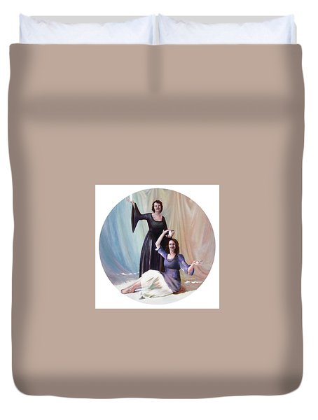 The Source Duvet Cover by Shelley Irish