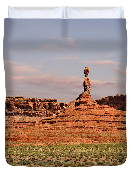 The Spindle - Valley of the Gods Duvet Cover by Christine Till