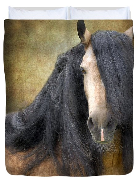 The Stallion Duvet Cover by Fran J Scott
