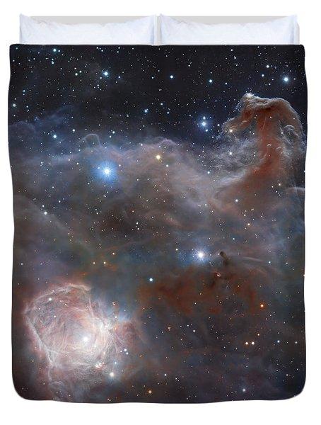 The Star-forming Region Ngc 2024 Duvet Cover by Robert Gendler