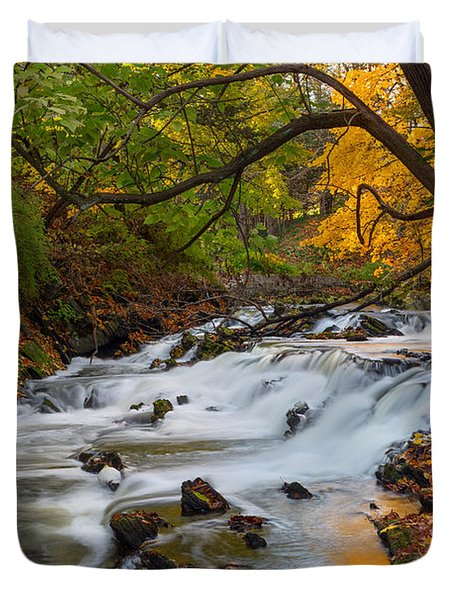 The Still River Duvet Cover by Bill  Wakeley